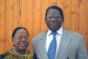 Clement Sitali & wife Elizabeth